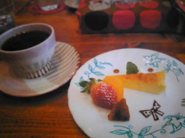 ハチミツボタンのデザート