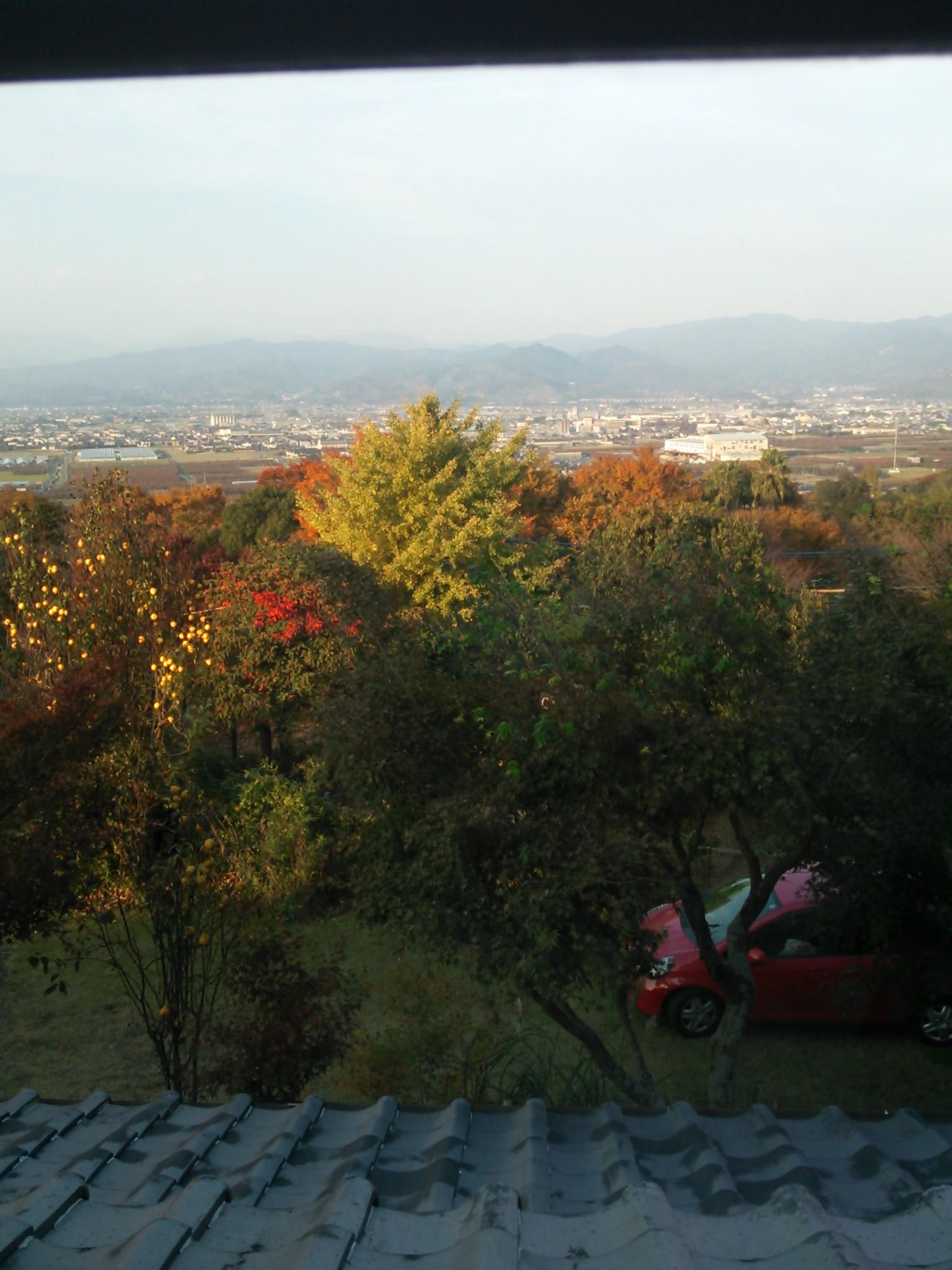 日月窯からの景色
