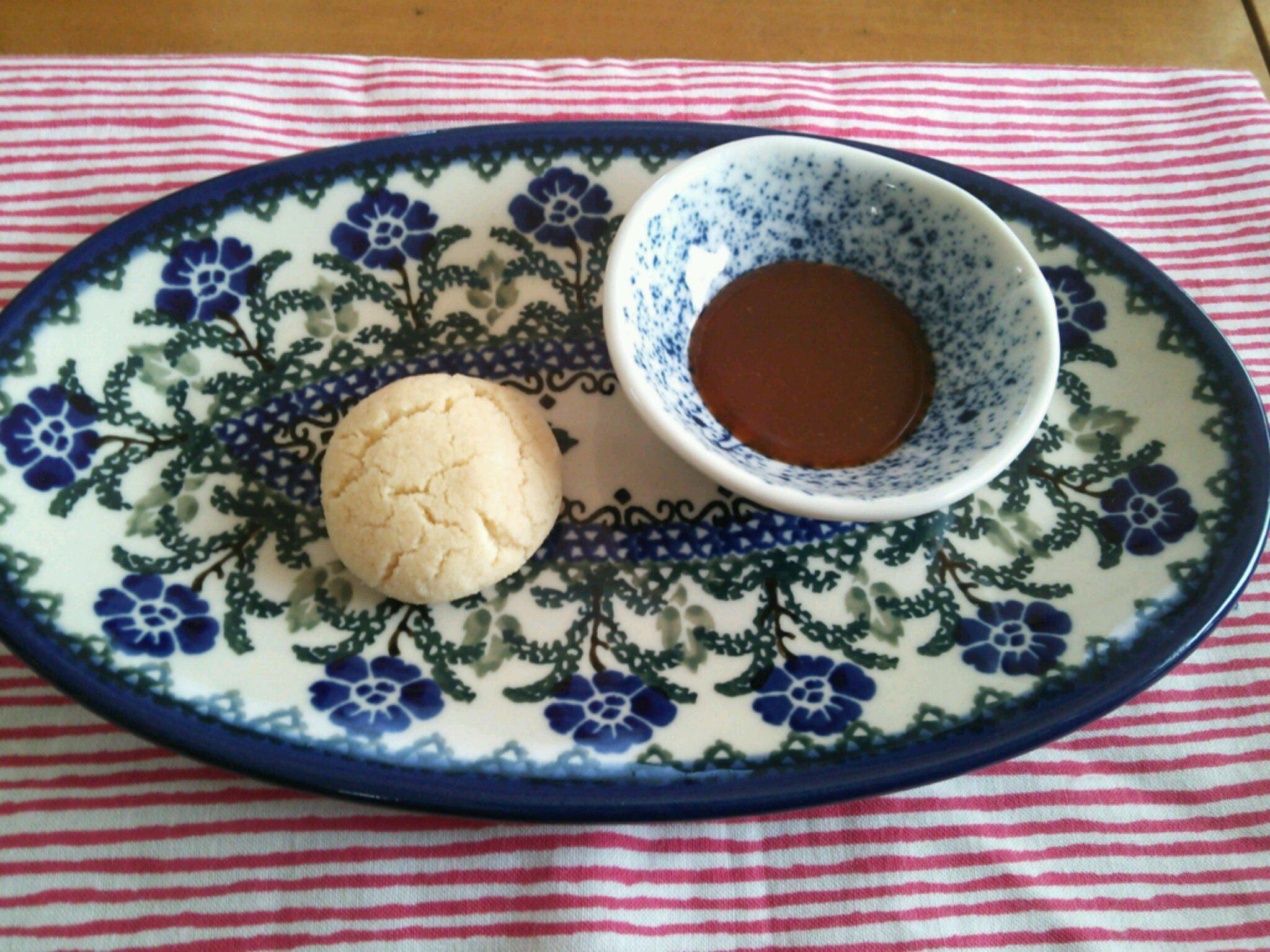 キャラメルクリーム&アーモンドクッキー
