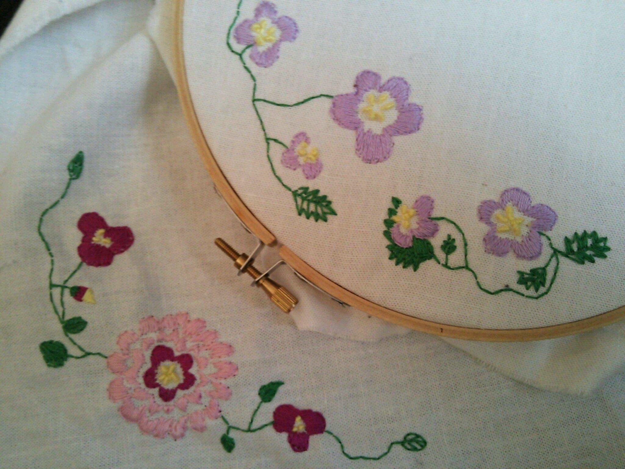 刺繍*花*