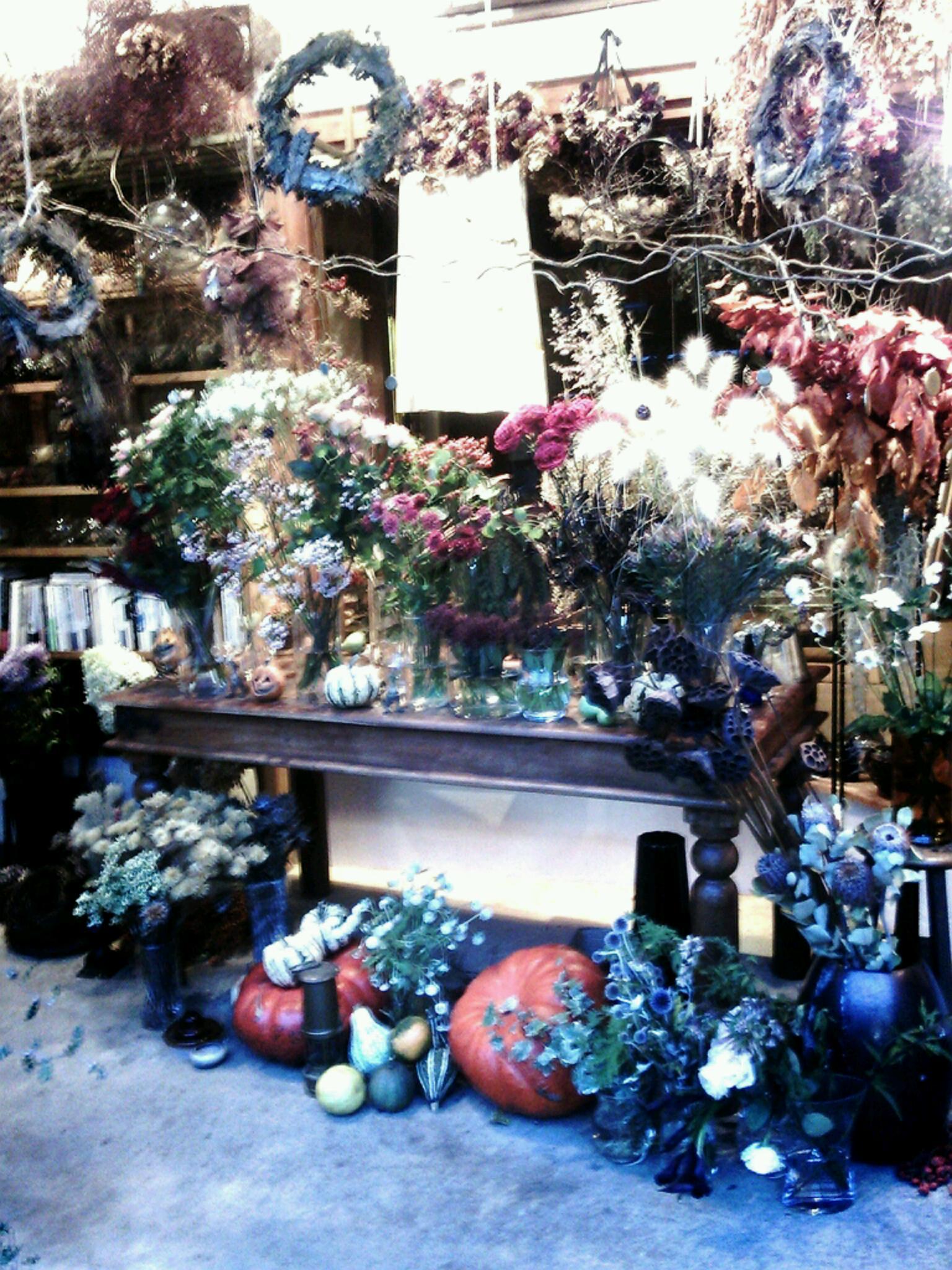 鳥栖の花屋boisさん 秋の巻